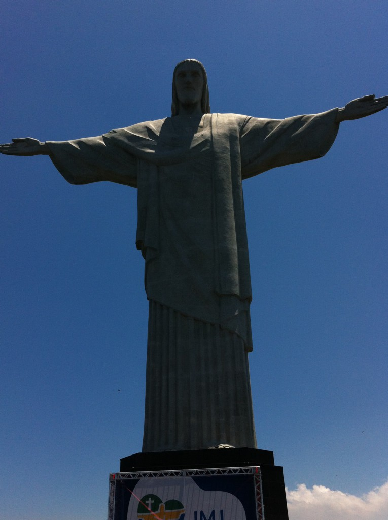 Christ the Redeemer, sightseeing in Rio de Janeiro