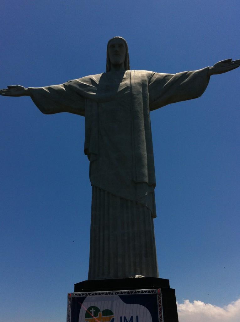 Christ the Redeemer, sightseeing in Rio de Janeiro