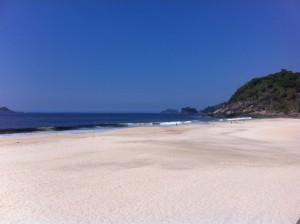Praia de Sao Conrado beach