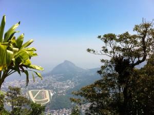Rio de Janeiro view from Christ the Redeemer
