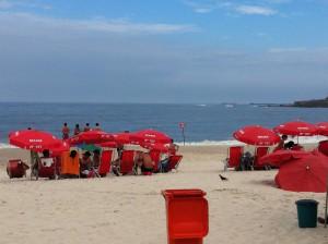 Spending time at Copacabana