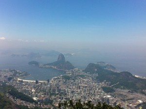 Sugar Loaf from Christ the Redeemer