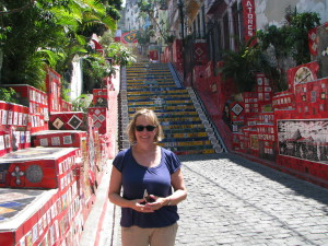 Visiting the Steps of Lapa