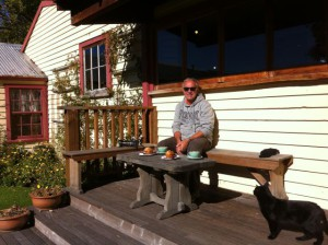 Afternoon coffee at Cardrona Hotel