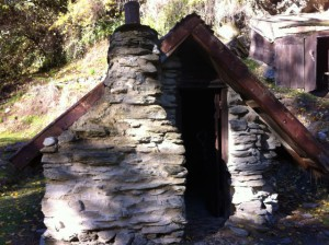 Arrowtown Chinese settlement hut