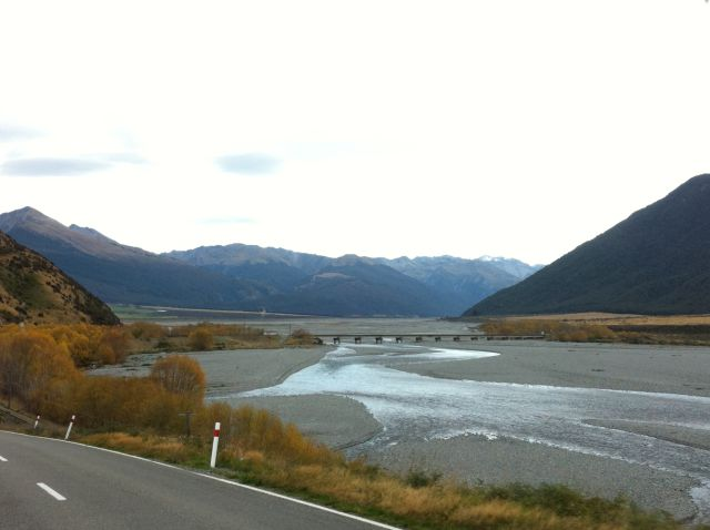 Waimakariri River New Zealand