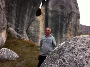 Between Castle Hill rocks
