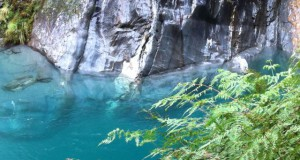 Blue Pools clear water