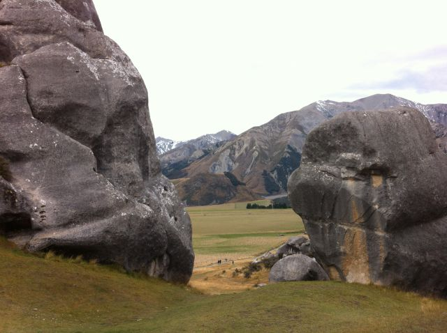 Castle Hill rocks
