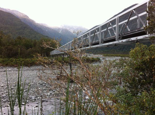 Christchurch to Greymouth bridge