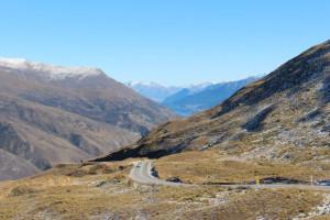 Corona Pass summit road