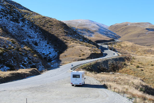New Zealand South Island road trip by campervan