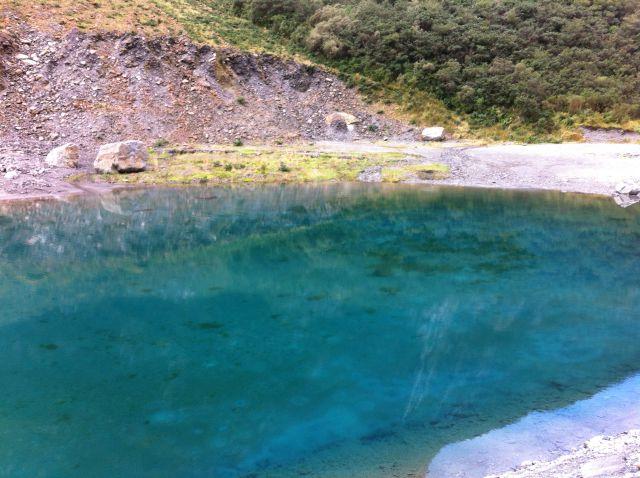 Fox Glacier lake