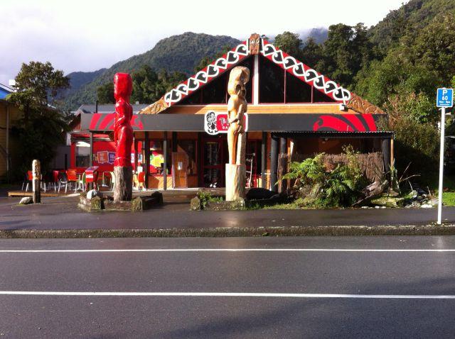 Franz Josef Glacier village shop