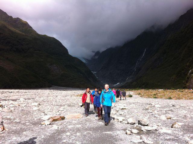 Franz Josef Glacier walkers