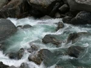Haast River falls