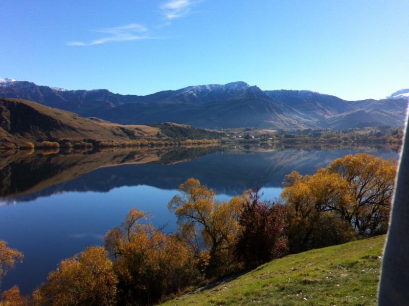 Lake Hayes in autumn, New Zealand