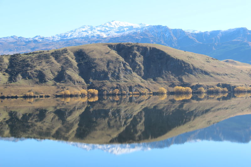 Lake Hayes reflection