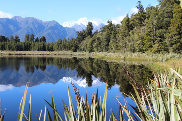 Lake Matheson, South Island West Coast drive