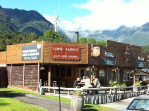Lake Matheson village pub