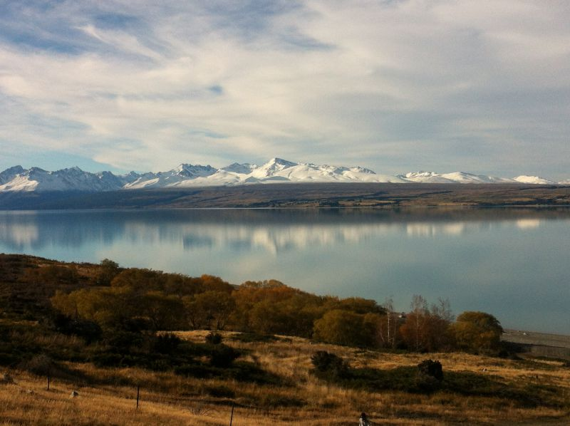 Lake Pukaki, Mount Cook to Christchurch