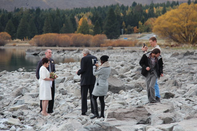 Lake Tekapo wedding