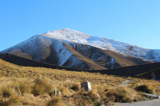 Lindis Pass view