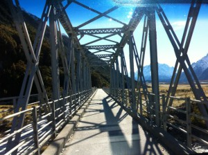 Mount Cook car bridge