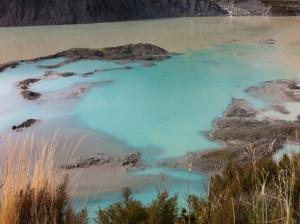 Mueller Glacial Lake