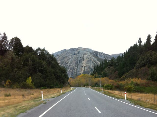 Christchurch to Greymouth road
