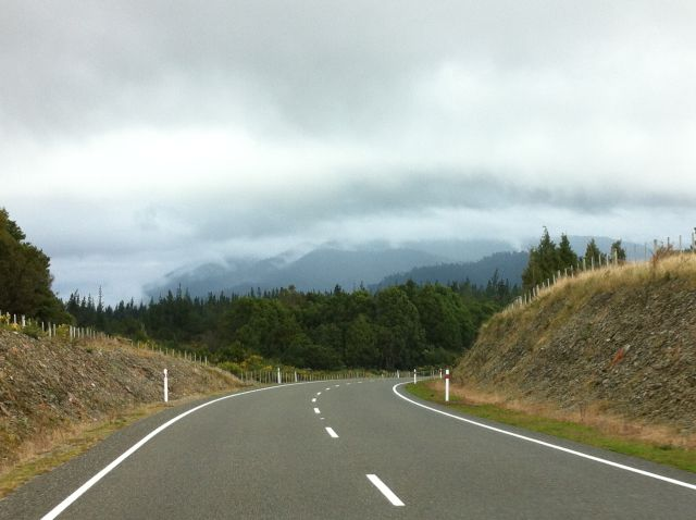 Driving in New Zealand, West Coast road
