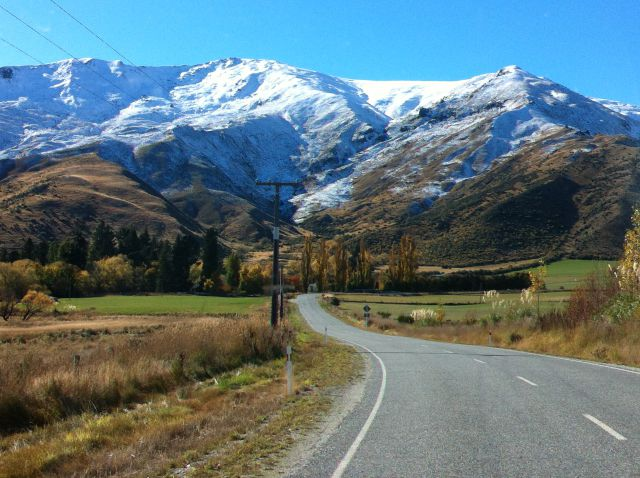 Queenstown to Mount Cook, the Cardrona Road