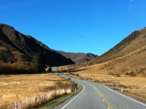 Road to Lindis Pass