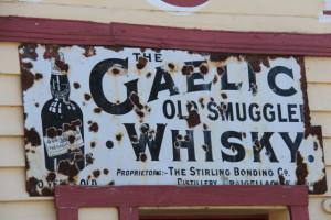 Sign at Cardrona