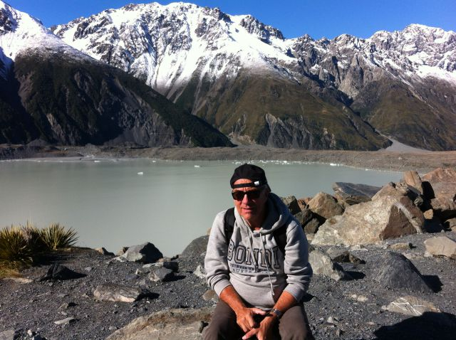 Short Walks in Mount Cook National Park Tasman Glacier Lookout