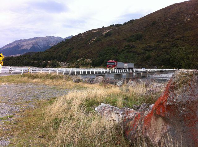 Waimakariri River bridge