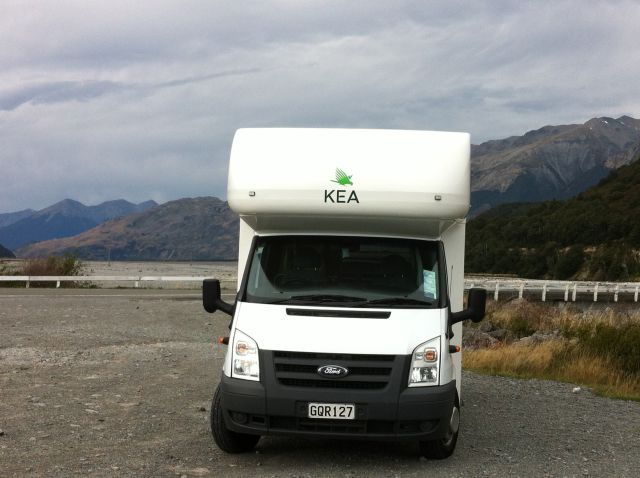 New Zealand South Island campervan trip