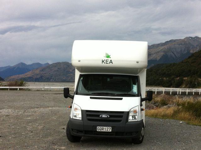 New Zealand Campervan Trip Christchurch to Greymouth