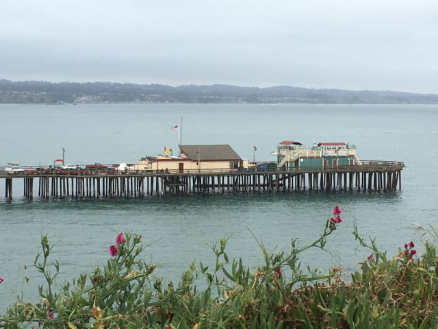 Capitola Wharf, Highway 1, California