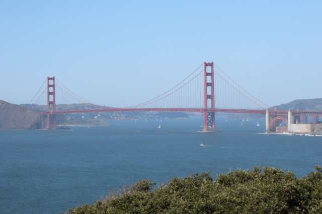 Golden Gate Bridge from Lands End