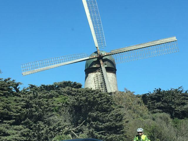 Golden Gate Park windmill