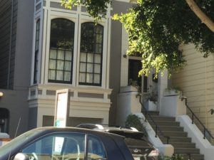 Pacific Heights Victorian house