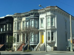 Pacific Heights Victorian houses