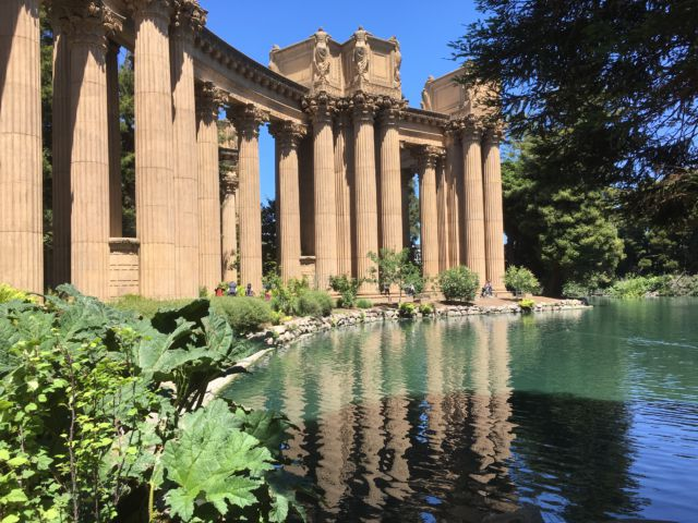 Palace of Fine Arts temple