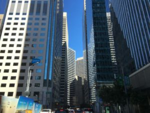 San Francisco downtown skyscrapers