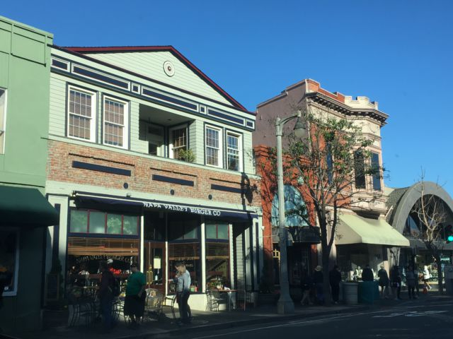 Sausalito main street
