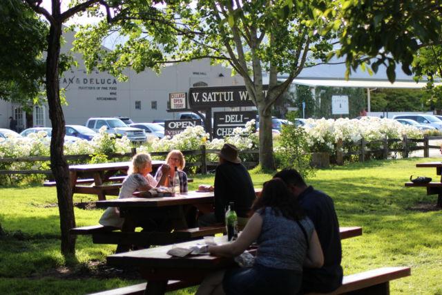 V. Sattui Winery picnic