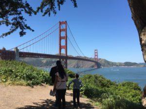 Walking on San Francisco Bay Trail