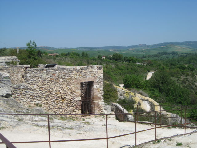 Italian farmstay agriturismo holiday in tuscany routes - Agriturismo bagno vignoni ...