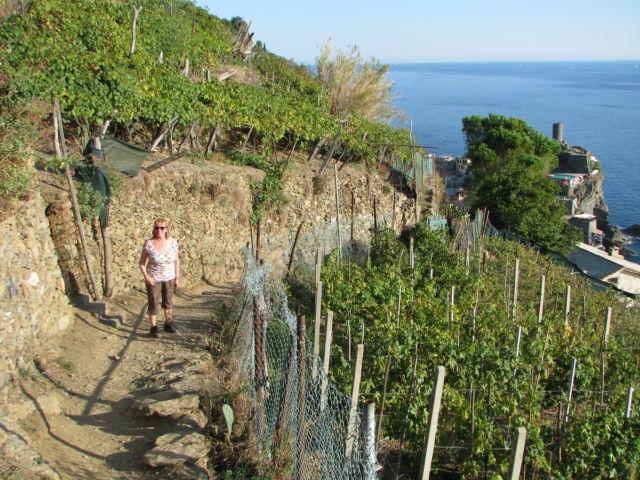 Hiking Cinque Terre Trails Monterosso to Vernazza